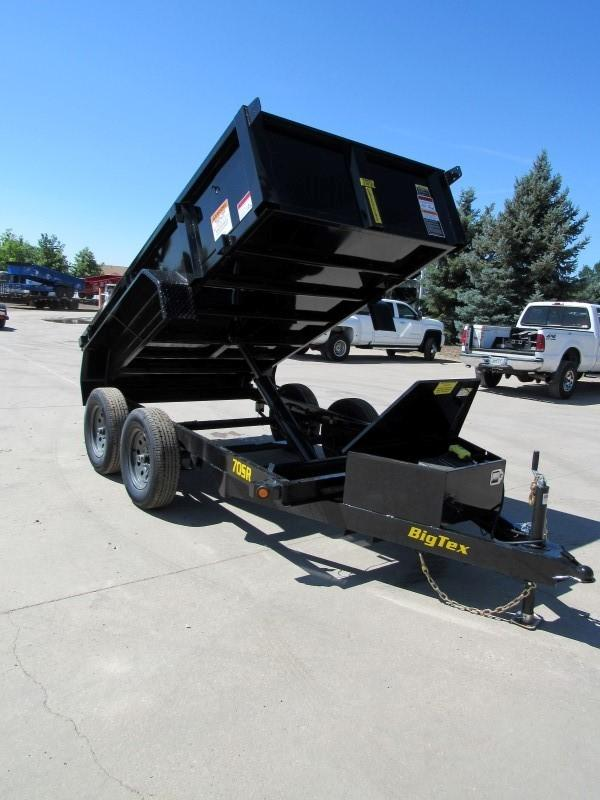 2020 Big Tex Trailers 70SR-10-5WDD Dump