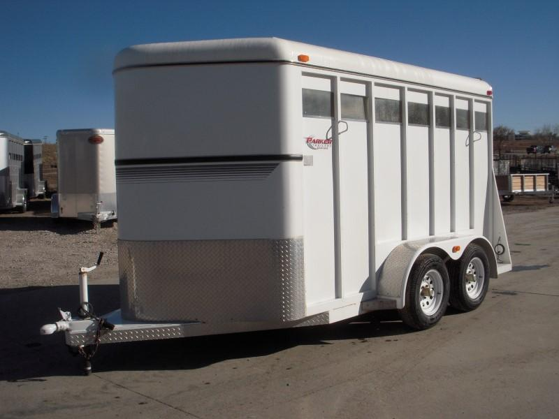 1999 Circle J 2H SLANT BP Horse Trailer