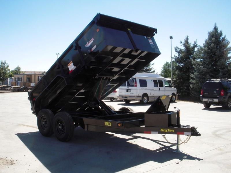2019 Big Tex Trailers 10LX-12BK7SIRPD Dump