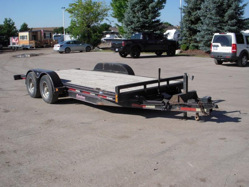 2001 Homemade 10K16+2FLATBED Flatbed Trailer