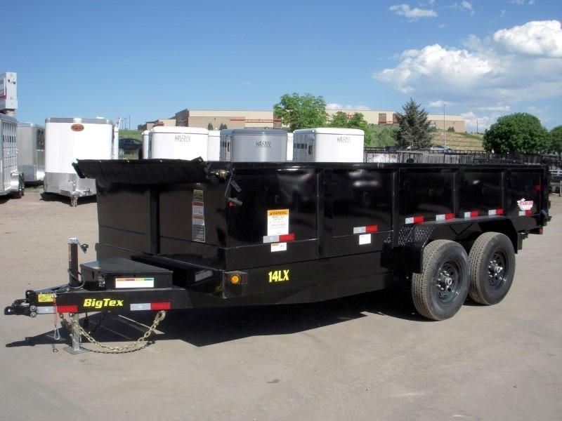 2019 Big Tex Trailers 14LX-16BK7SIRPD Dump