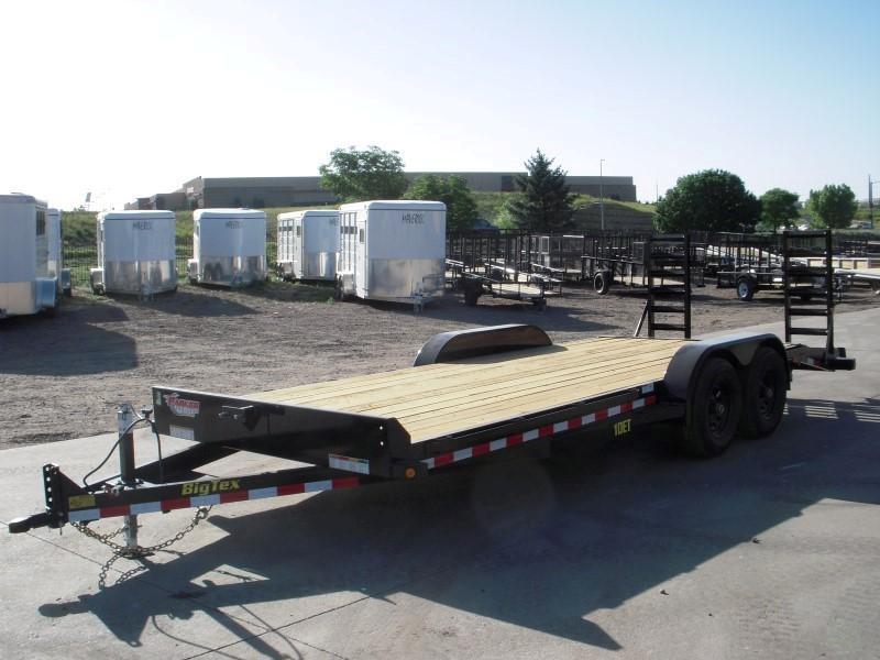 2019 Big Tex Trailers 10ET-20BK-KR Flatbed Trailer