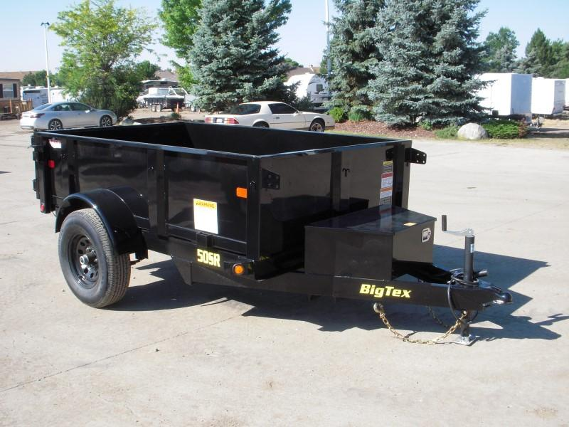 2018 Big Tex Trailers 50SR-08-5WDD Dump