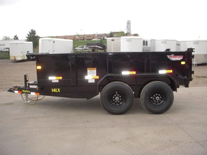 2019 Big Tex Trailers 14LX-12BK7SIRPD Dump