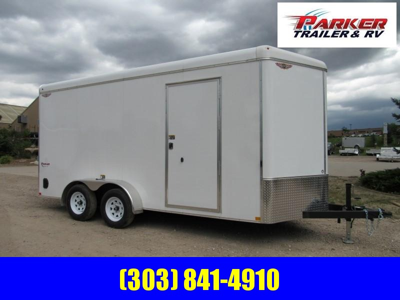 2019 H&H H8416TRTV-070 Enclosed Cargo Trailer