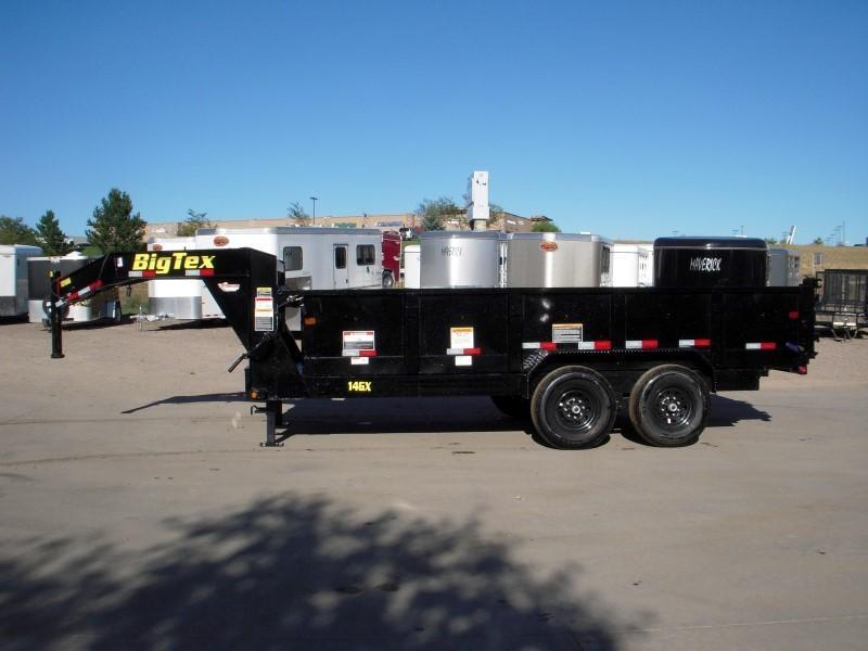 2019 Big Tex Trailers 14GX-16BK7SIRPD Dump