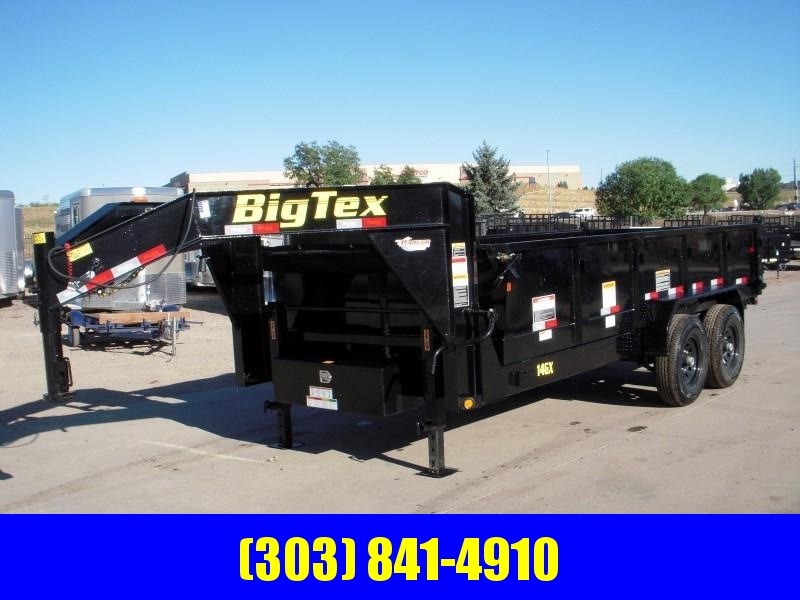 2019 Big Tex Trailers 14GX-16BK7SIRPD Dump