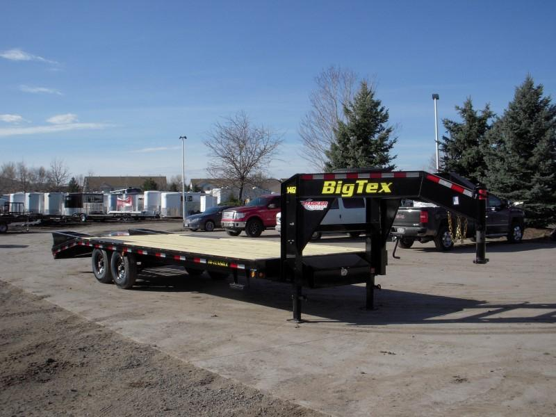 2018 Big Tex Trailers 14GN-20BK+5 Flatbed Trailer