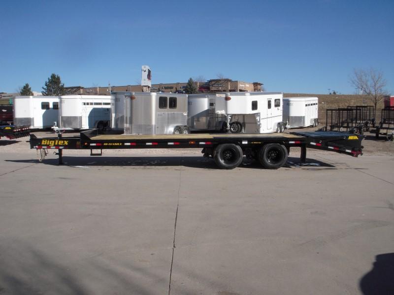 2019 Big Tex Trailers 22PH-20BK+5MR Flatbed Trailer