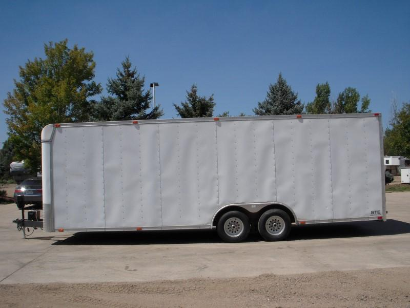 2000 CARGO EXPRESS STE 8.5X24 Enclosed Cargo Trailer