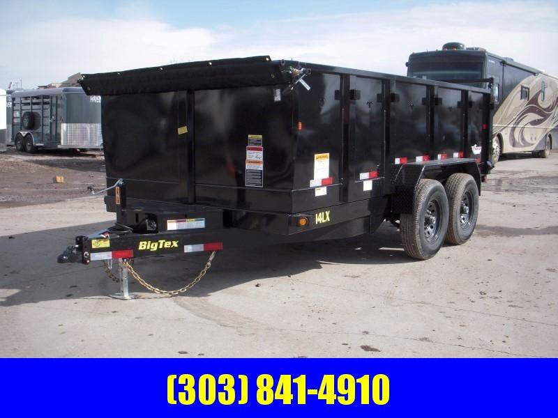 2019 Big Tex Trailers 14LX-14BK-P3 Dump