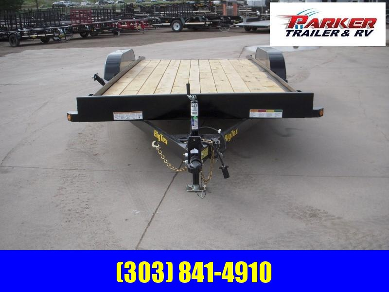 2020 Big Tex Trailers 70CH-18BKDT Flatbed Trailer