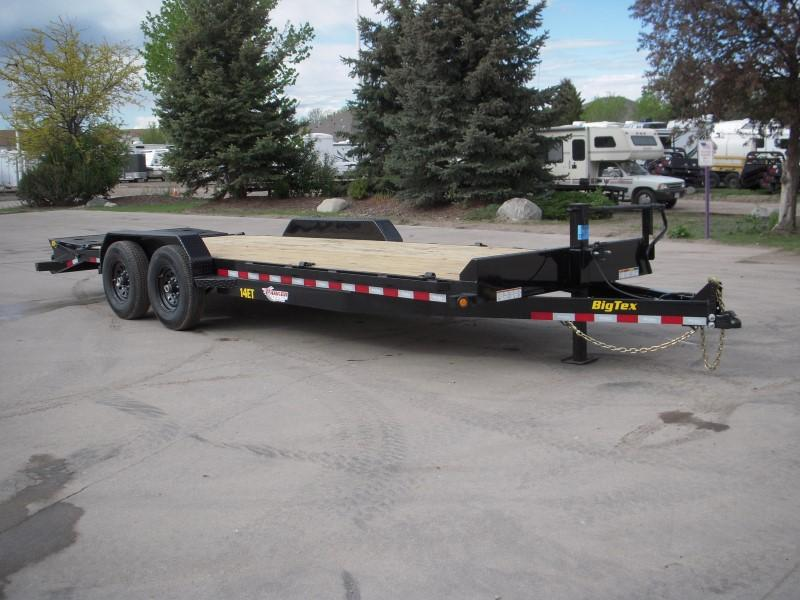 2020 Big Tex Trailers 14ET-22MR Flatbed Trailer