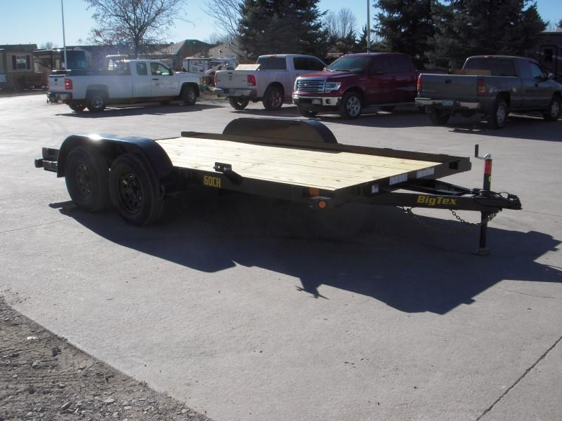 2019 Big Tex Trailers 60CH-14 Flatbed Trailer