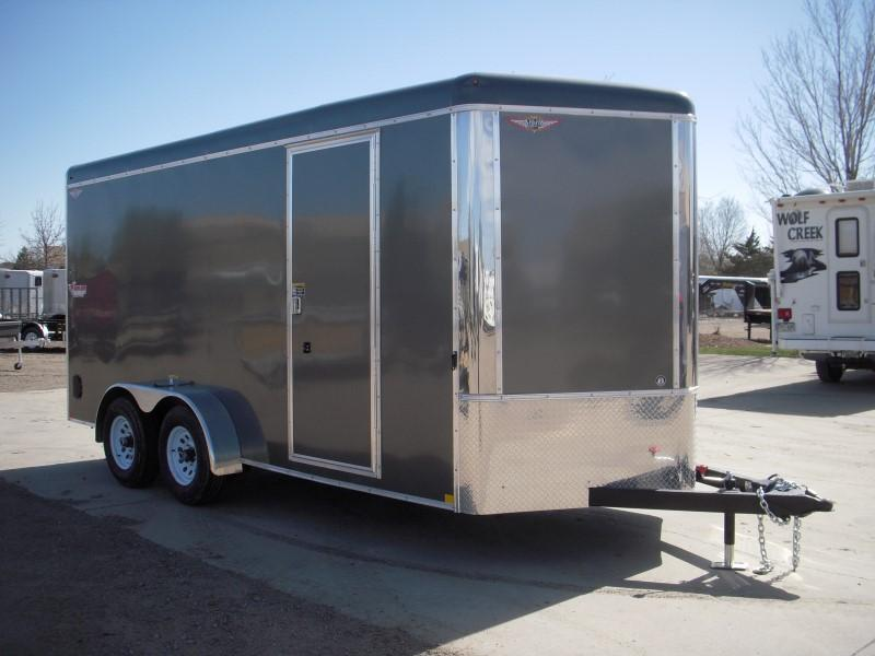 2018 H&H H8416TRTV-100 Enclosed Cargo Trailer
