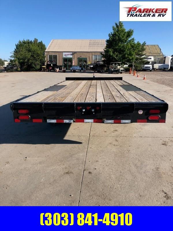 2020 Big Tex Trailers 10OA-18BK-8SIR Flatbed Trailer