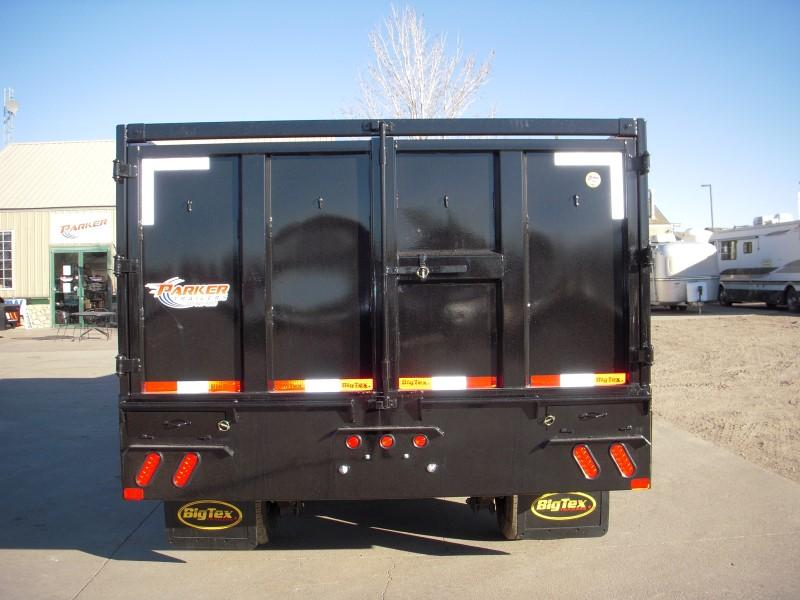 2018 Big Tex Trailers 25DU-20BK8SIR Dump