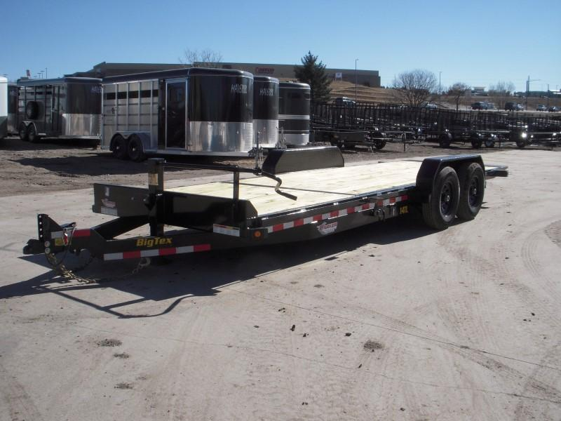 2019 Big Tex Trailers 14TL-22BK Flatbed Trailer