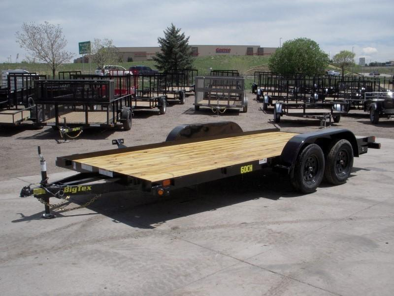 2019 Big Tex Trailers 60CH-16BK Flatbed Trailer