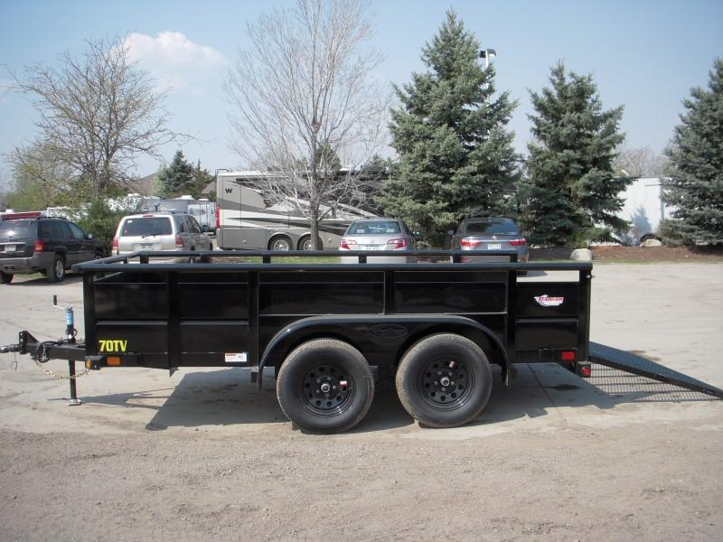 2019 Big Tex Trailers 70TV-12 Utility Trailer