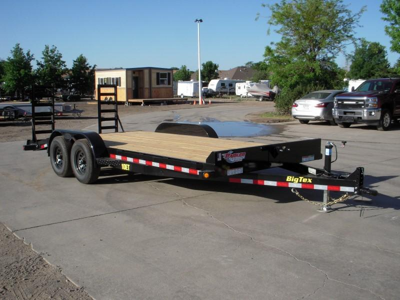 2018 Big Tex Trailers 10ET-18BK-KR Flatbed Trailer