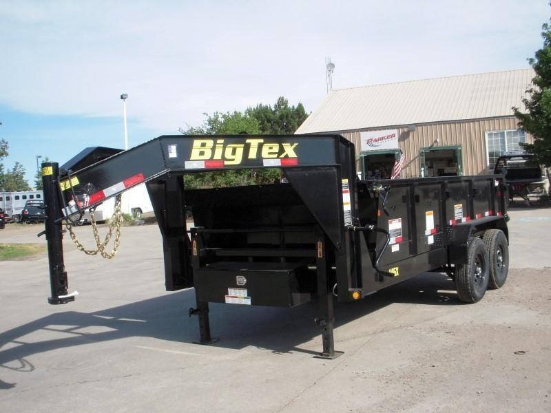 2019 Big Tex Trailers 14GX-14BK7SIRPD Dump