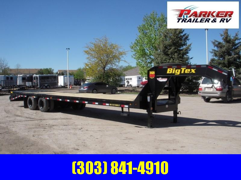 2020 Big Tex Trailers  3XGN-28+5 Flatbed Trailer