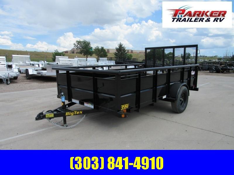 2020 Big Tex Trailers 35SV-12BK Utility Trailer
