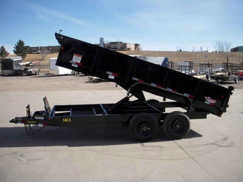 2018 Big Tex Trailers 14LX-16BK7SIRPD Dump