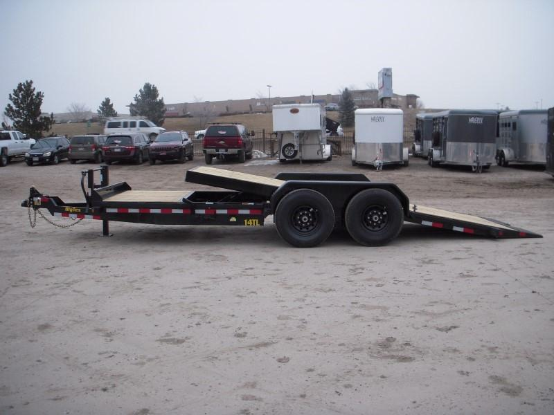 2019 Big Tex Trailers 14TL-20BK Flatbed Trailer