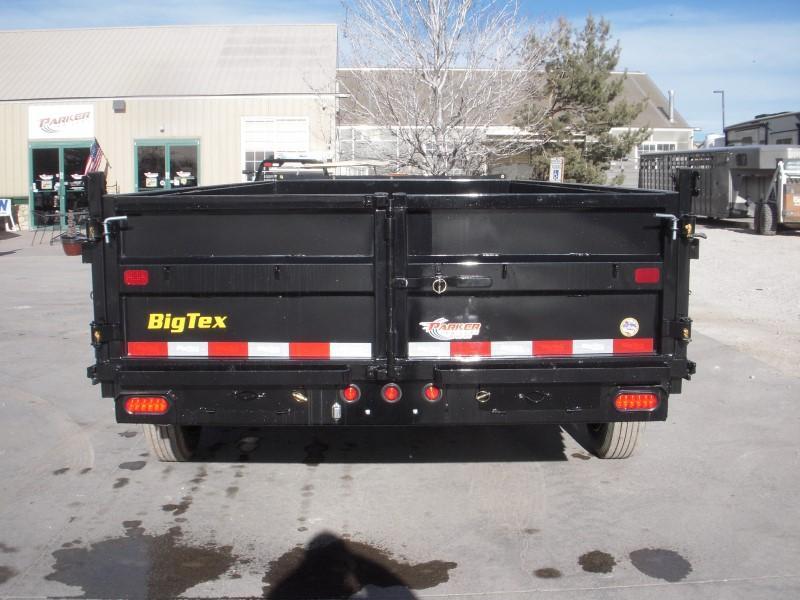 2019 Big Tex Trailers 16LX-16BK7SIRPD Dump