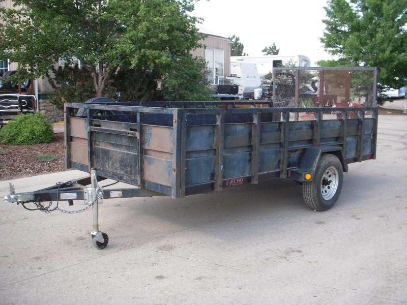 2007 ECHO 6X12VANGUARD Utility Trailer