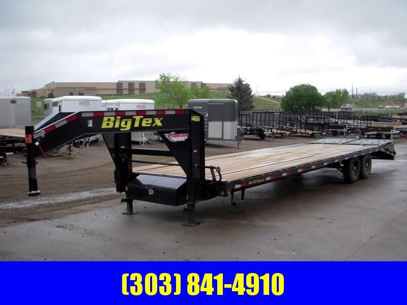 2019 Big Tex Trailers 14GN-25BK+5MR Flatbed Trailer