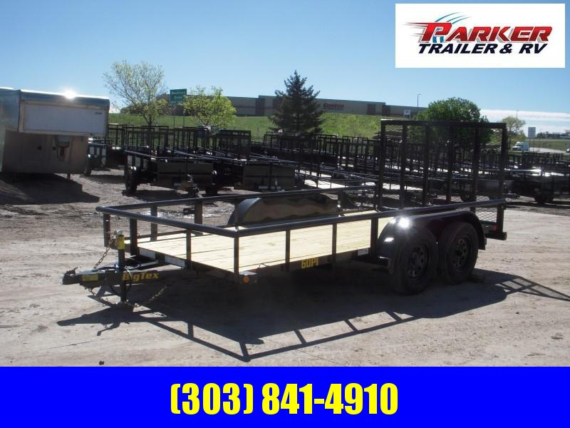 2020 Big Tex Trailers 60PI-14BK4RG Utility Trailer