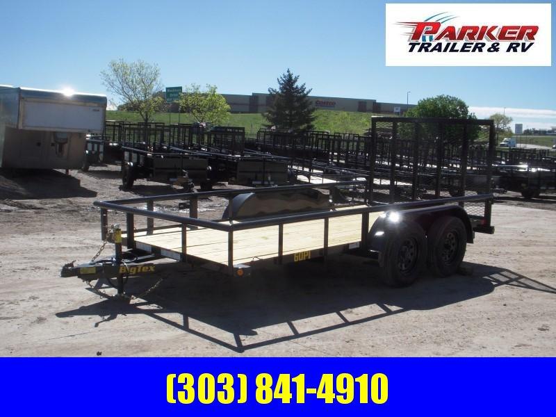2020 Big Tex Trailers 60PI-14BK4RG Utility Trailer