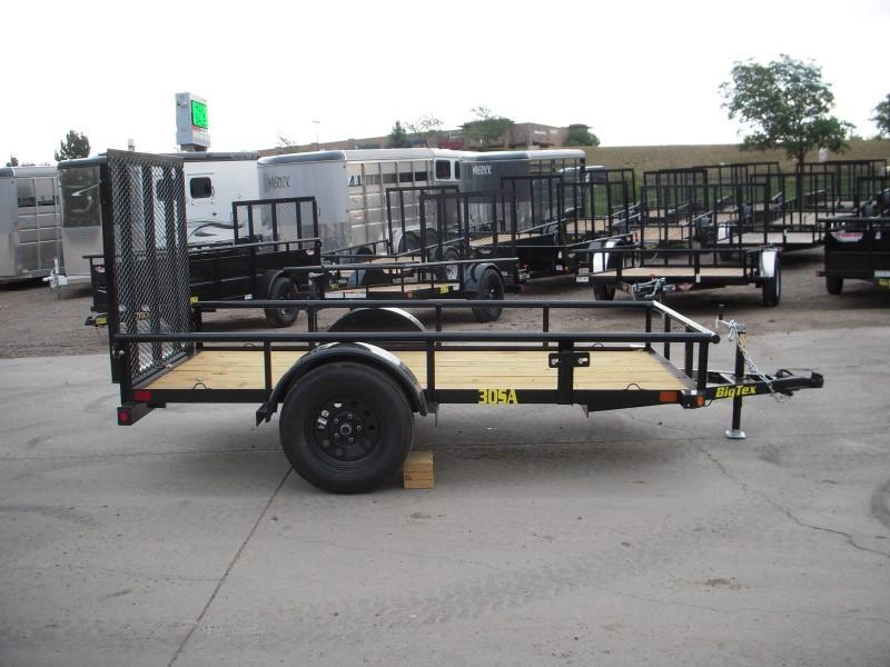 2019 Big Tex Trailers 30SA-10BK4RG Utility Trailer