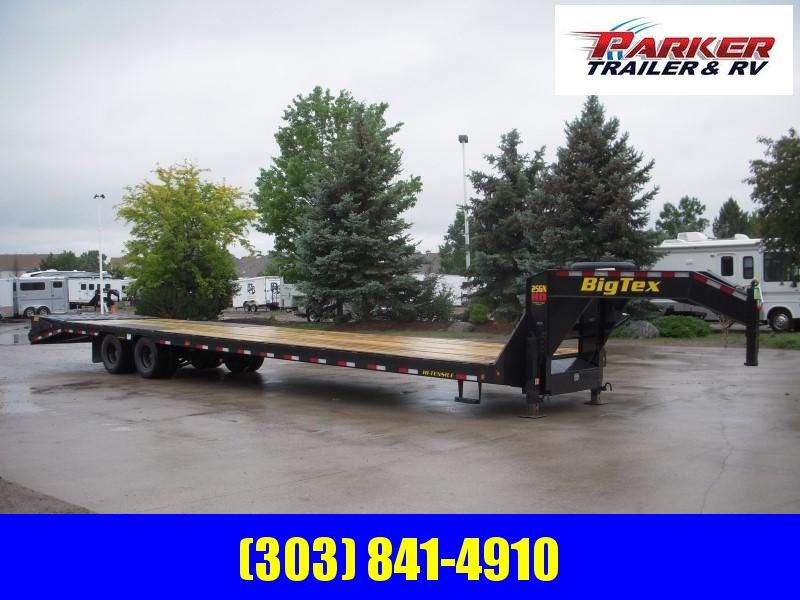2020 Big Tex Trailers 25GN-35BK+5MR Flatbed Trailer