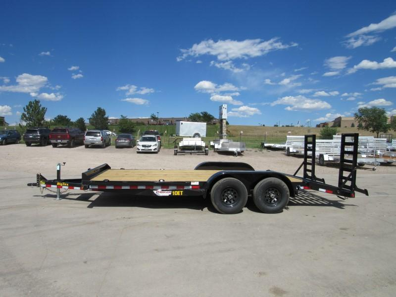 2020 Big Tex Trailers 10ET-18BK-KR Flatbed Trailer