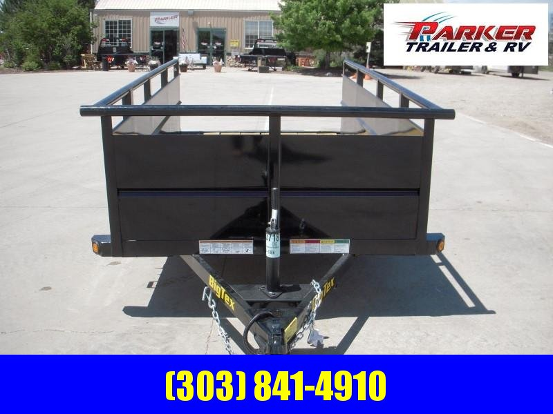 2020 Big Tex Trailers 30SV-10BK Utility Trailer