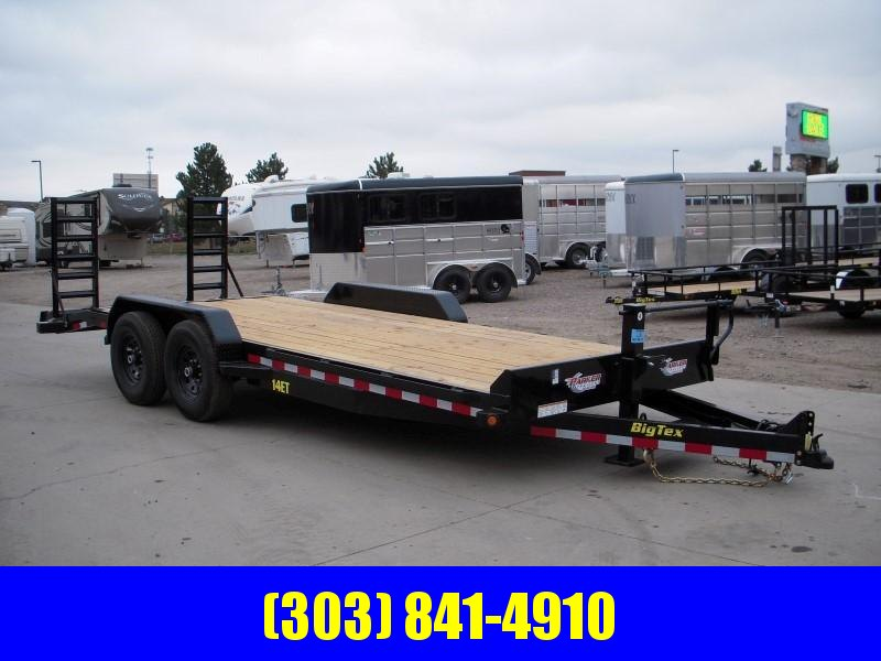 2019 Big Tex Trailers 14ET-20KR Flatbed Trailer