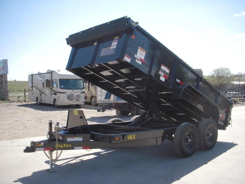 2020 Big Tex Trailers 14LX-14BK7SIRPD Dump