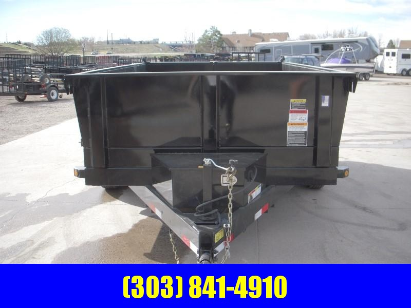 2020 Big Tex Trailers 10SR-12XLBK7SIR Dump
