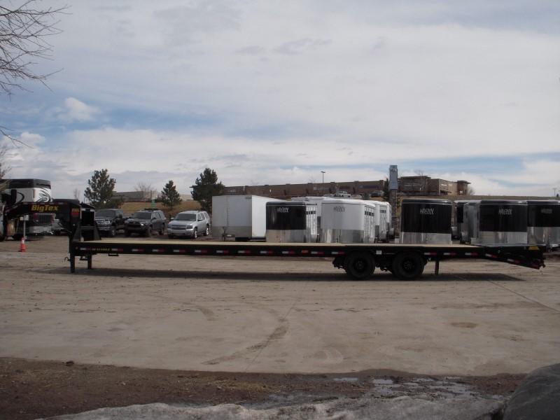 2019 Big Tex Trailers 25GN-35BK+5MR Flatbed Trailer