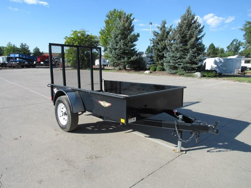 2014 H&H 5X8SS Utility Trailer