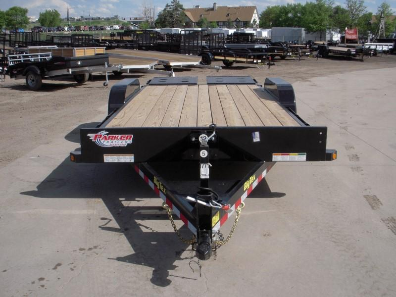 2018 Big Tex Trailers 10ET-18BK-MR Flatbed Trailer