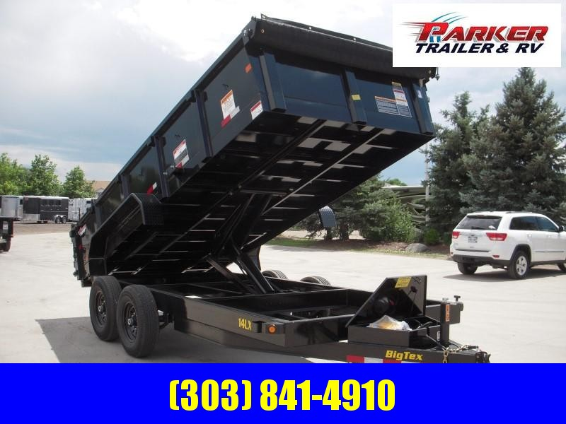 2020 Big Tex Trailers 14LX-16BK7SIRPD Dump