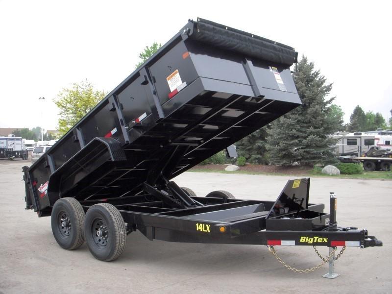 2019 Big Tex Trailers 14LX-14BK7SIRPD Dump