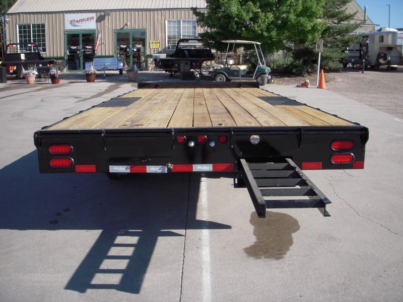 2020 Big Tex Trailers 14OA-20BK-8SIR Flatbed Trailer