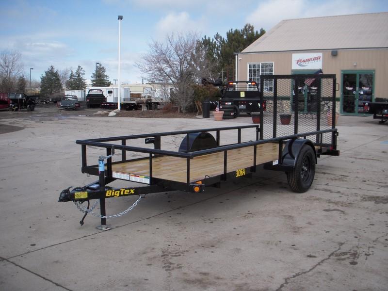 2020 Big Tex Trailers 30SA-14BK4RG Utility Trailer