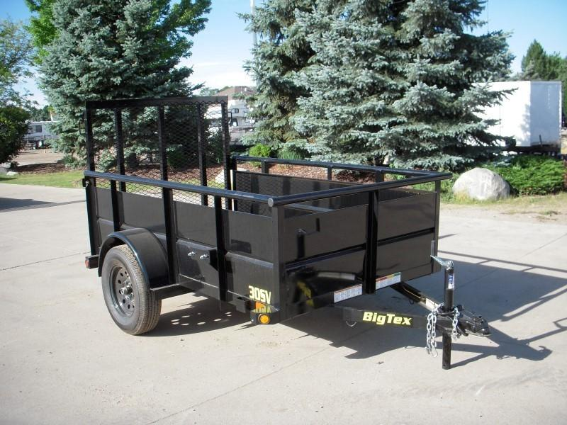 2019 Big Tex Trailers 30SV-08BK Utility Trailer